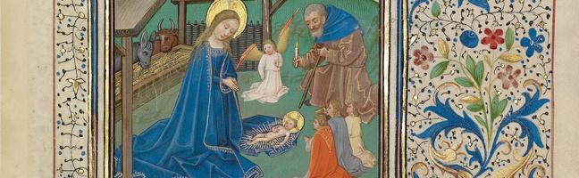 Willem Vrelant The Nativity
