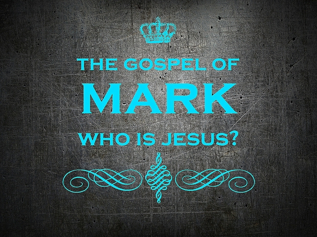 mark - who is jesus