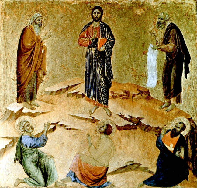 Transfiguration of Christ - Duccio_di_Buoninsegna_039