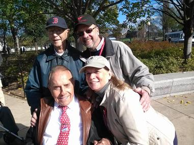 with Bob Dole in DC