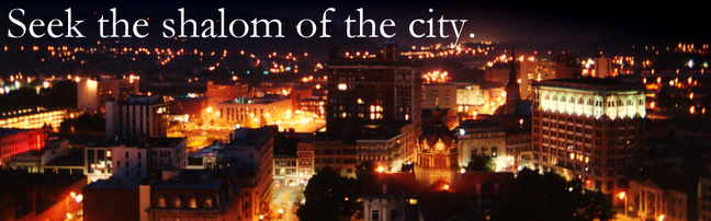 Seek the shalom of the city.