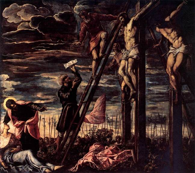 The_Crucifixion_of_Christ_Jacopo_Tintoretto_1568