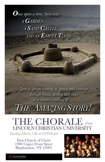 Lincoln Christian Chorale poster 2