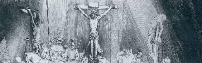 Rembrandt - Three Crosses