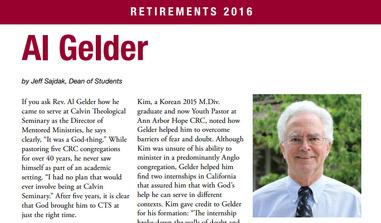 Gelder Retirmement in Forum
