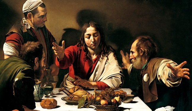 Caravaggio_-_Supper_in_Emmaus