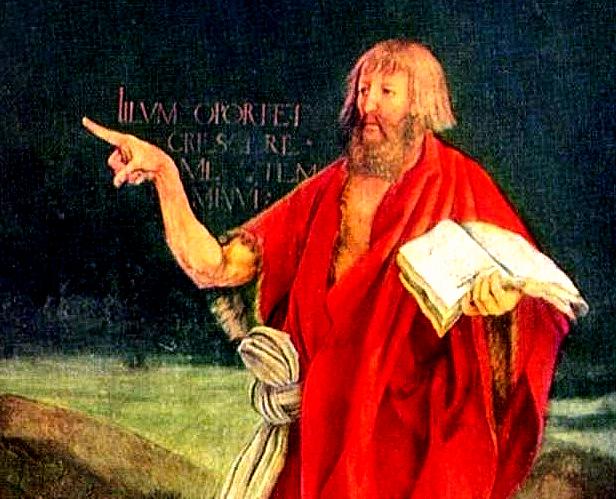 Mathis Grunewald  - John the Baptist  for email