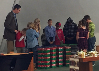 OCC boxes blessing