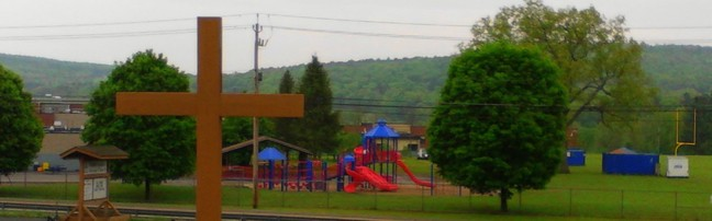 view of cross and cf schools 2