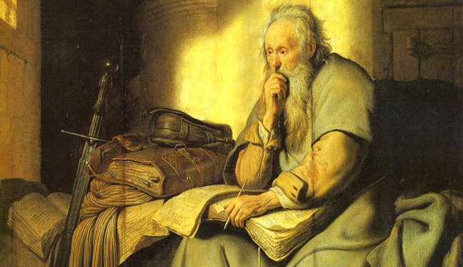 Saint Paul in Prison Rembrandt 1627 - Copy