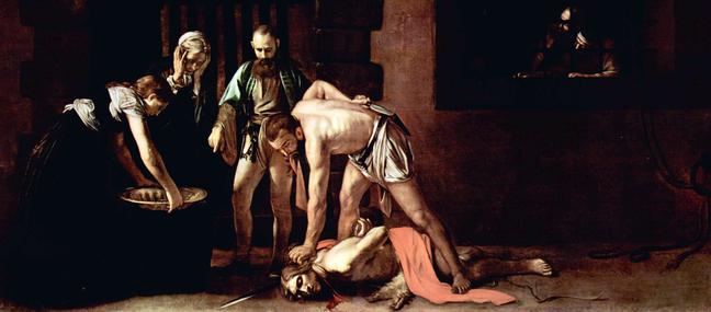 Caravaggio - Beheading of John the Baptist