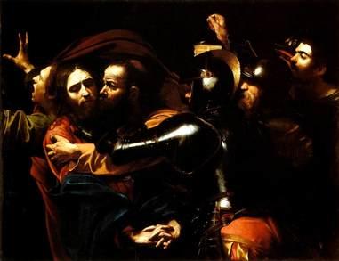 Caravaggio - Taking of Christ