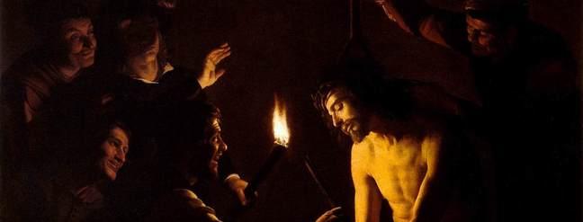 Gerard van Honthorst - The Mocking of Christ - 1617