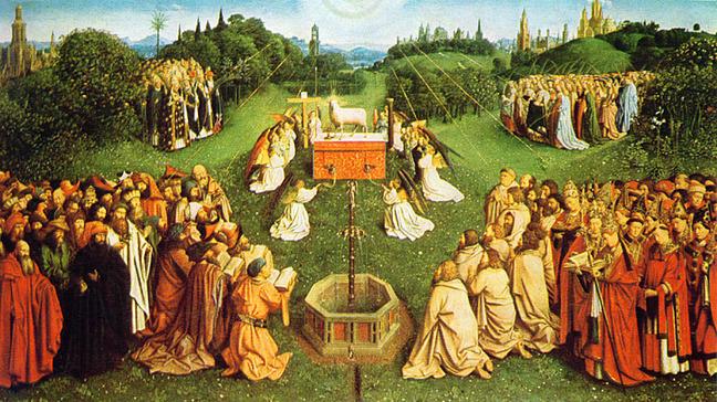j van eyck wedding feast of the lamb