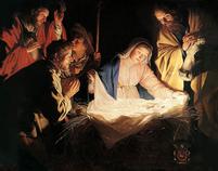 nativity and shepherds