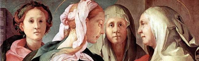 Jacopo Pontormo - visitation of Mary - circa 1528-29