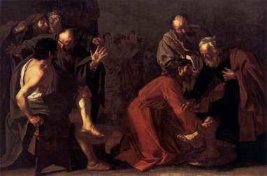 Dirck_van_Baburen_-_Christ_Washing_the_Apostles_Feet_-_WGA1090